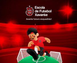 A Escolinha de Futebol Xavante está com inscrições abertas. Crianças de 6 a 14 anos já podem vestir a camisa rubro-negra.