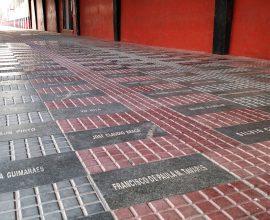 Está de volta a Calçada da Paixão. Torcedor Xavante vai poder eternizar seu nome no estádio Bento Freitas. Foto: Carlos Insaurriaga